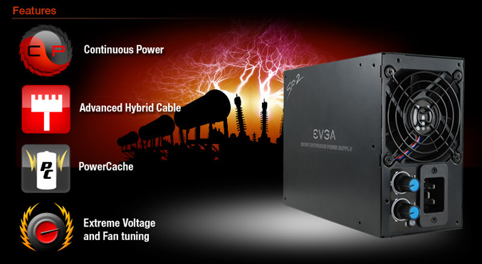 EVGA Classified SR-2 Power Supply