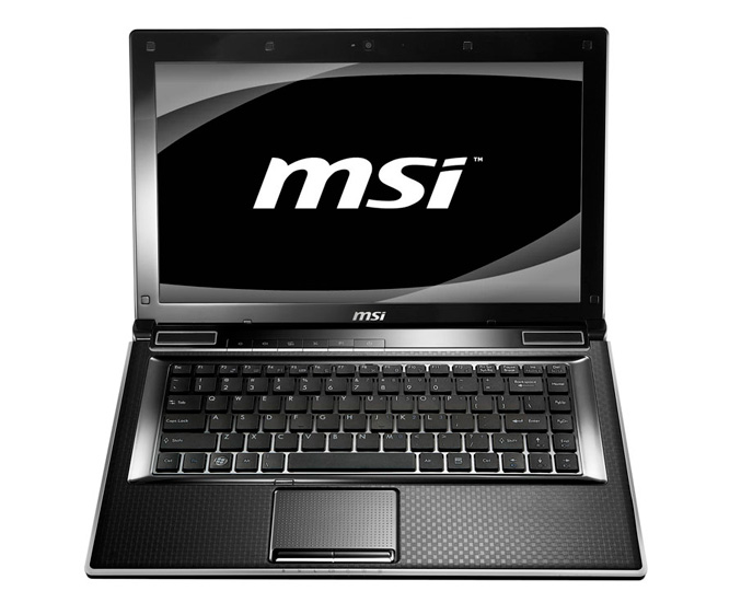 MSI FX400 notebook