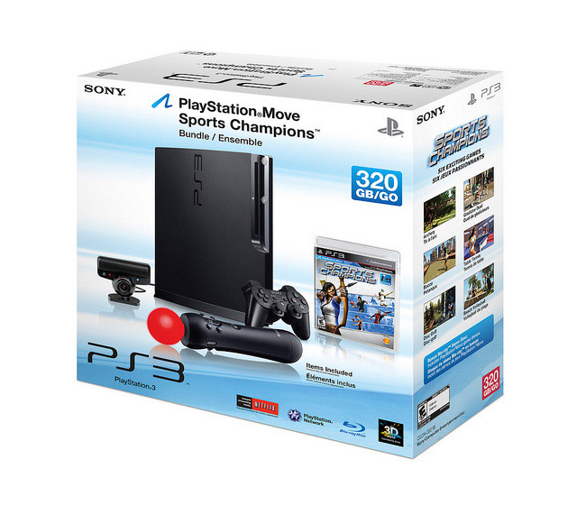 Playstation 3 320GB Move bundle