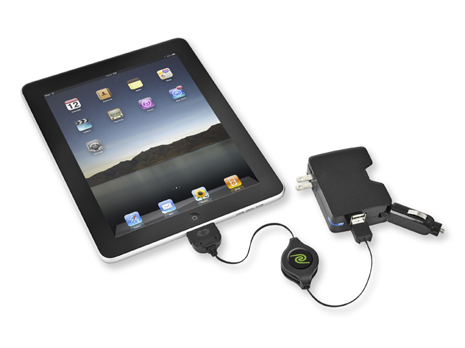 ReTrak iPad Sync n Charge combo adapter