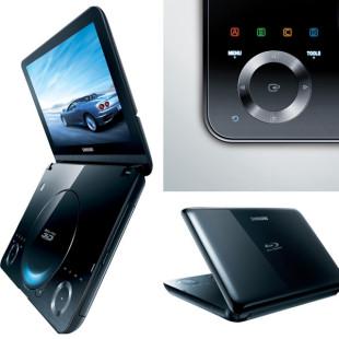 Samsung BD-C8000, first portable 3D Blu-ray player