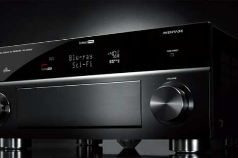 Yamaha's new Aventage line of A/V receivers