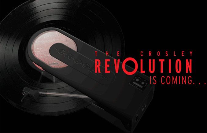 Crosley-Turntable