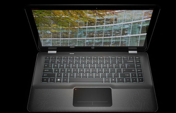 HP Envy 14 Review Keyboard