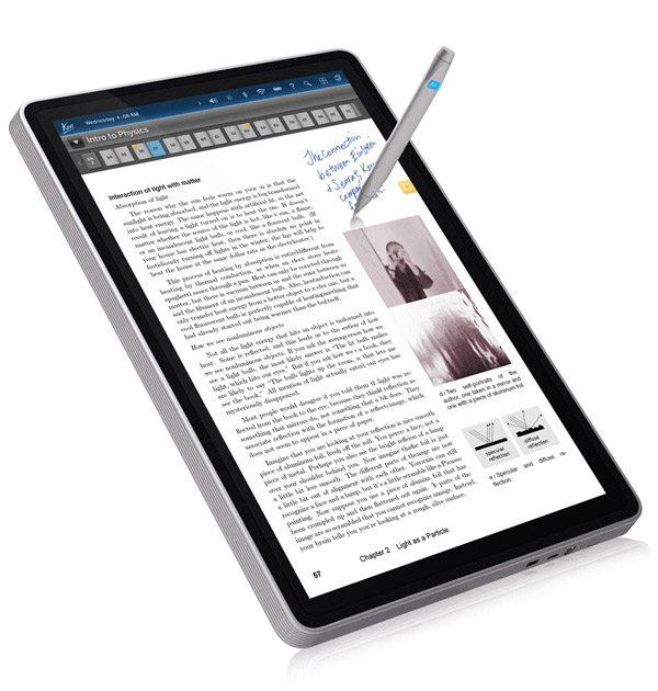 Kno Single screen tablet textbook