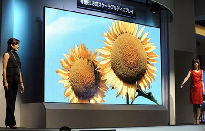 Large Scale OLED