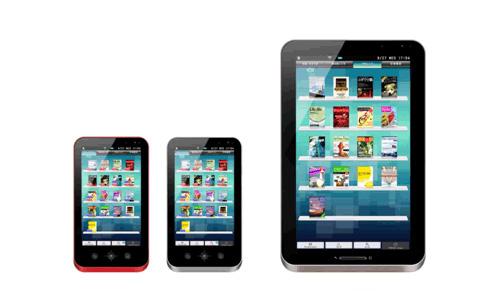 Sharp Galapagos e-book readers