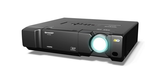 Sharp XV-Z17000 3D ready DLP projector