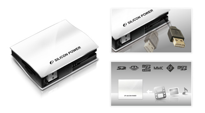 Silicon Power All-in-One card reader