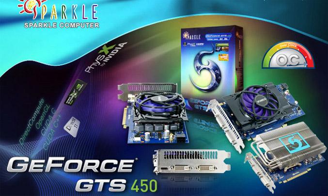 Sparkle GeForce GTS 450
