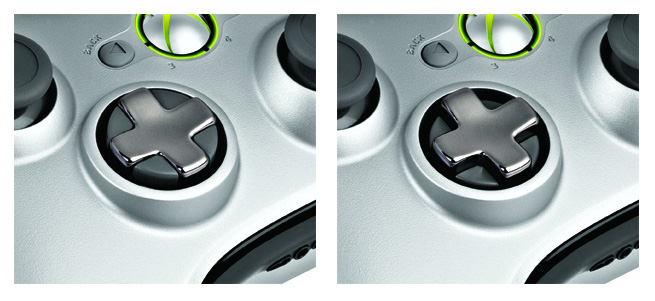 Xbox 360 Wireless Controller with Transforming D-Pad