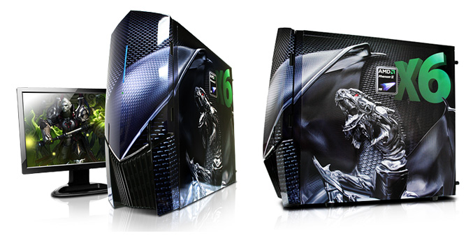 iBUYPOWER AMD Dragon Special Edition chassis