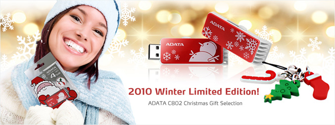 Adata C802 Chrismas Edition