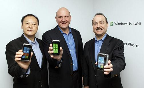 HTC WP 7 -Peter, Steve, and Ralph