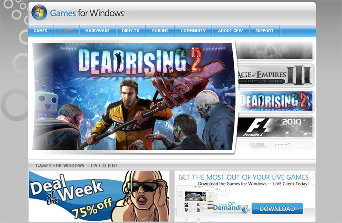 Microsoft Games for Windows Marketplace