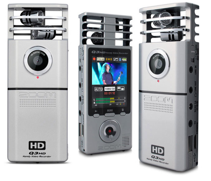 Samson Zoom Q3HD camcorder