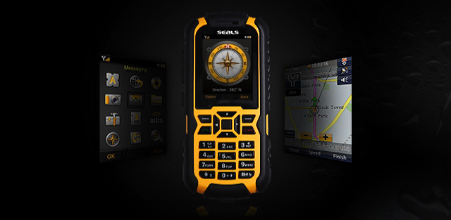 Seals VR7 rugged mobile phone