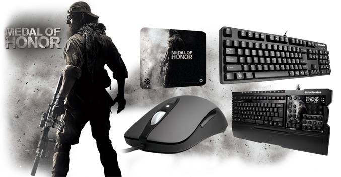 SteelSeries Medal Of_Honor gaming peripherals