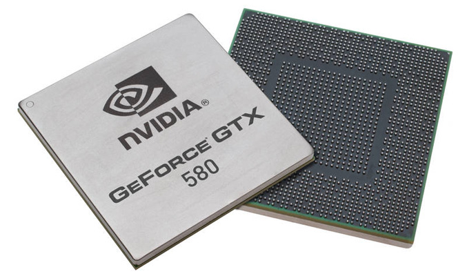 GeForce GTX 580 chip