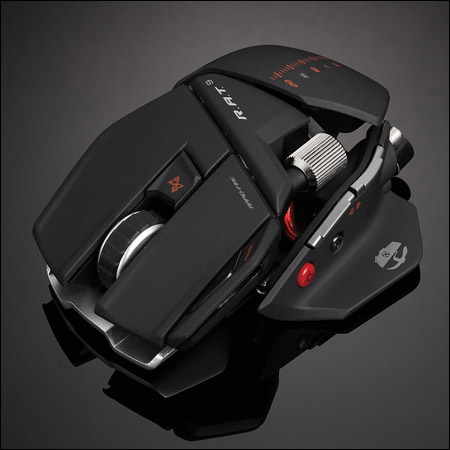 Mad Catz R.A.T.9 wireless professional gaming mouse