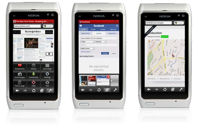 Opera Mobile 10.1 final for Nokia