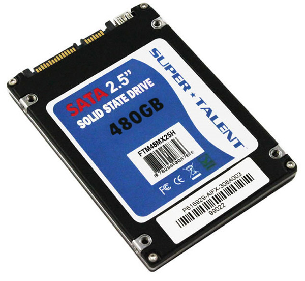Super Talent 480GB UltraDrive MX SSD