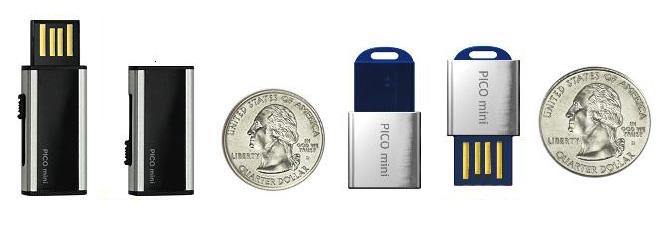 Super Talent Pico Mini D and Pico Mini C USB flash Drives