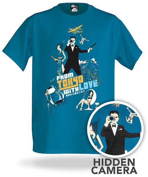 ThinkGeek Electronic Spy Camera Shirt