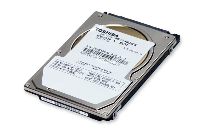 Toshiba 100GB MK1060GSCX hard drive
