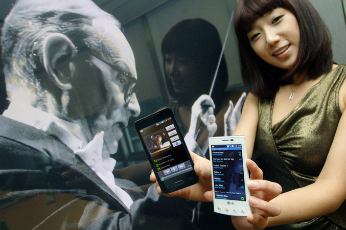Ennio Morricone music for LG smartphones