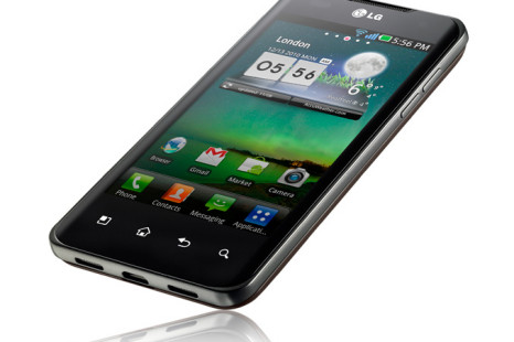 LG Optimus 2X dual-core processor smartphone
