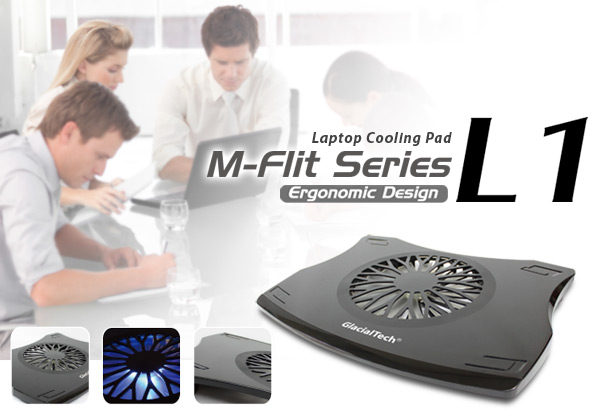 GlacialTech M-Flit L1 cooling pad