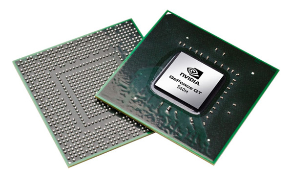 Nvidia GeForce GT 540M