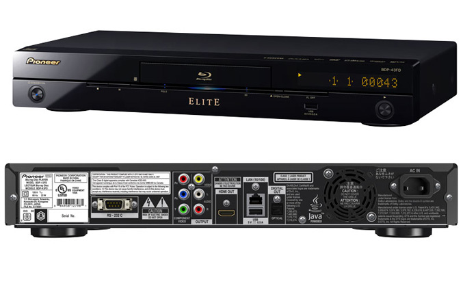 Pioneer BDP-43FD 3D Blu-ray player