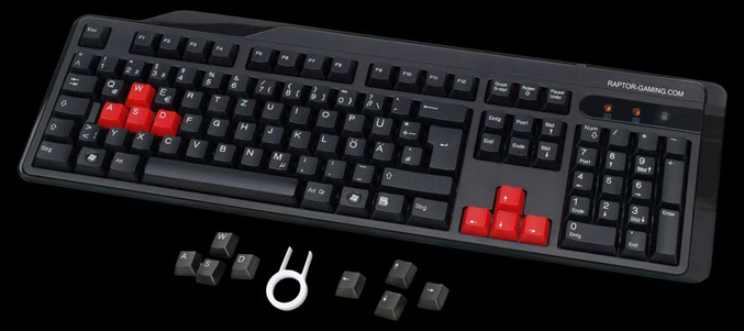 Raptor Gaming LK1 keyboard
