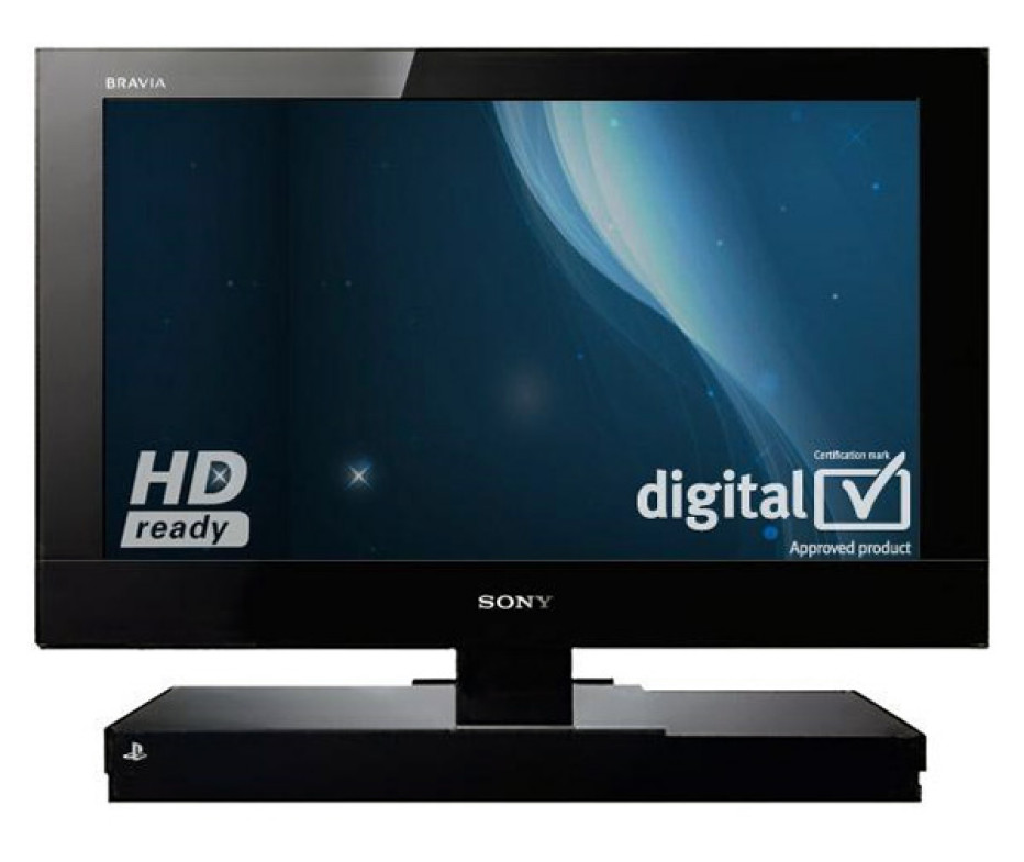 Sony BRAVIA KDL22PX300 with build in Playstation 2