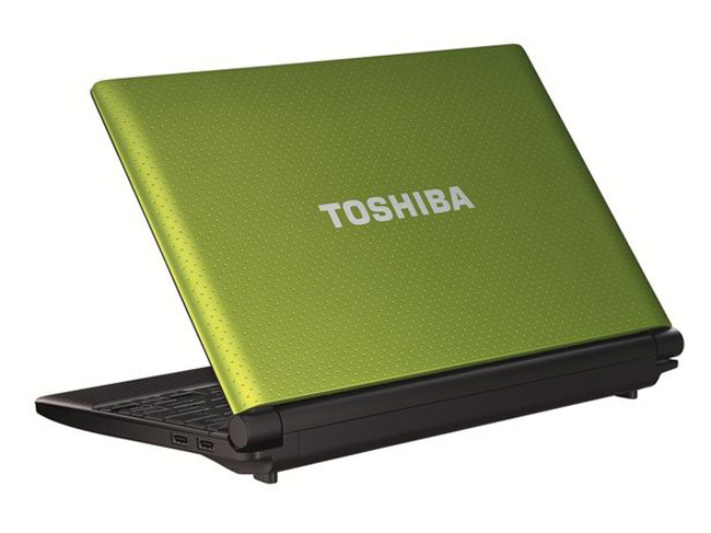 Toshiba mini NB520 netbook