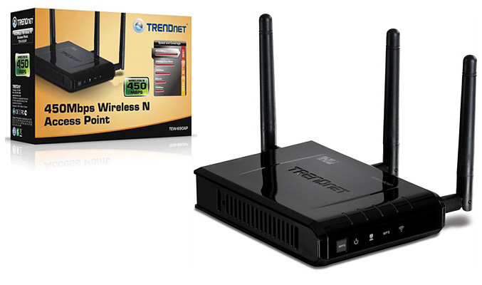 TRENDnet TEW-690AP 450Mbps wireless access point