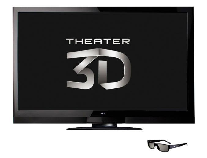 VIZIO 65-Inch Theater 3D Razor LED HDTV (XVT3D650SV)