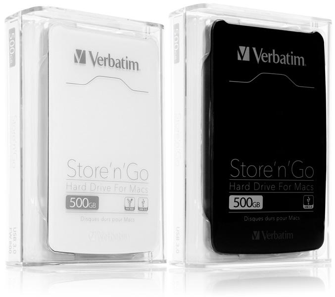 Verbatim Store 'n' Go USB-3.0 portable HDD
