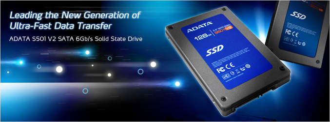 ADATA S501 V2 Solid State Drive