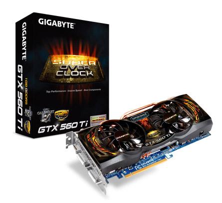 Gigabyte GV-N560SO-1GI