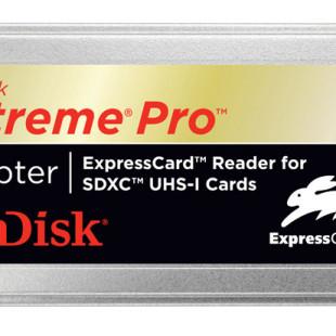 SanDisk Extreme Pro SDHC UHS-I card delivers 45MB/sec