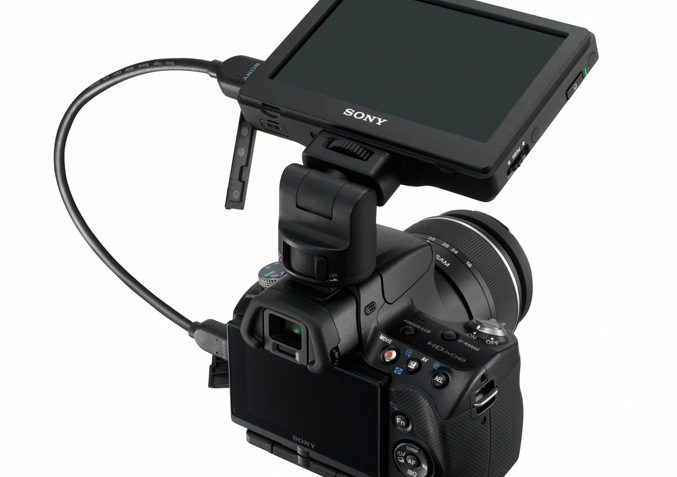 Sony CLM-V55 Clip-on LCD monitor