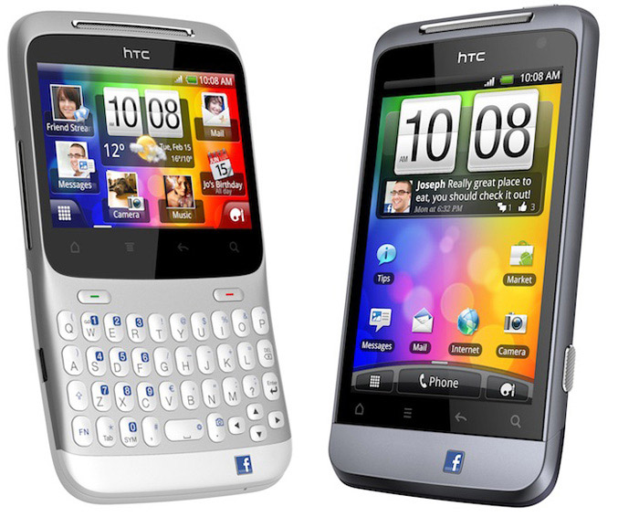 HTC ChaCha and HTC Salsa