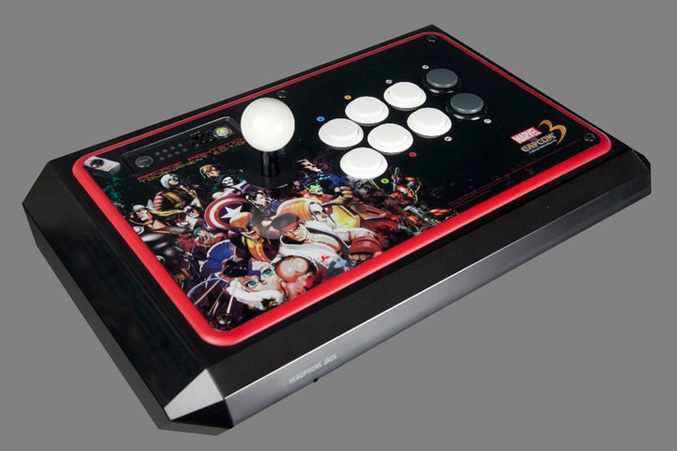 Mad Catz Marvel Vs. Capcom 3 Fate of Two Worlds Arcade FightStick Tournament Edition