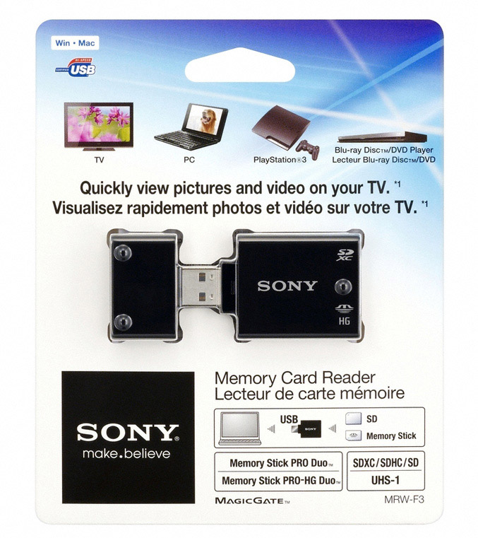 Sony MRW-F3 Memory Card Reader