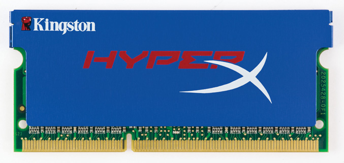 Kingston HyperX SO-DIMMs memory