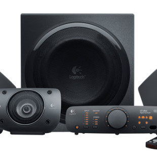 Logitech Surround Sound Speakers Z906 delivers 500W