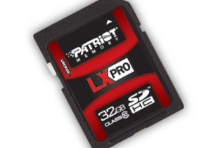 Patriot LX PRO Series SDHC memory cards